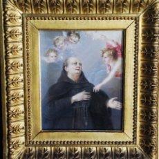 Arte: ESPECTACULAR PINTURA RELIGIOSA SIGLO XIX. Lote 157205246