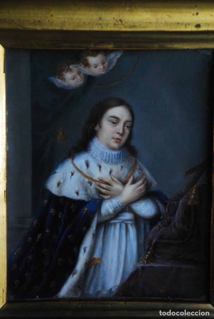 Arte: ESPECTACULAR PINTURA RELIGIOSA SIGLO XIX - Foto 9 - 157205938