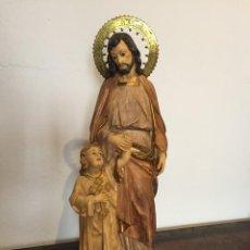 Arte: SAN JOSÉ CON NIÑO ARTE CRISTIANO. Lote 157218278