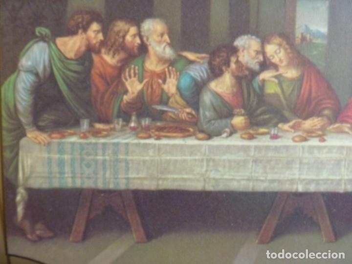 Arte: ULTIMA CENA LEONARDO DA VINCI SERIGRAFIA SOBRE MADERA IDEAL REGALO - Foto 2 - 158116562
