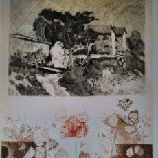 Arte: CALISTO GRITTI - A MORANDI. AGUAFUERTE FIRMADA Y NUMERADA - 72/130 - 1987, ITALIA. Lote 158161006