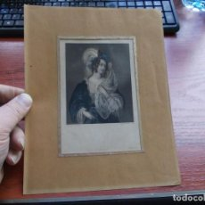 Arte: GRABADO BY H.T. RYALL, DRAWN BY MIF'S L. SHARPE, PRINTED BY MC QUEEN. REBECCAL. 19,5X12. Lote 158447910