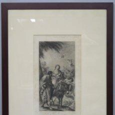 Arte: GRABADO HUIDA A EGIPTO DE FRANCISCO BAYEU. JOSEPH CAMARON (1760-1819). 1795. Lote 158546142