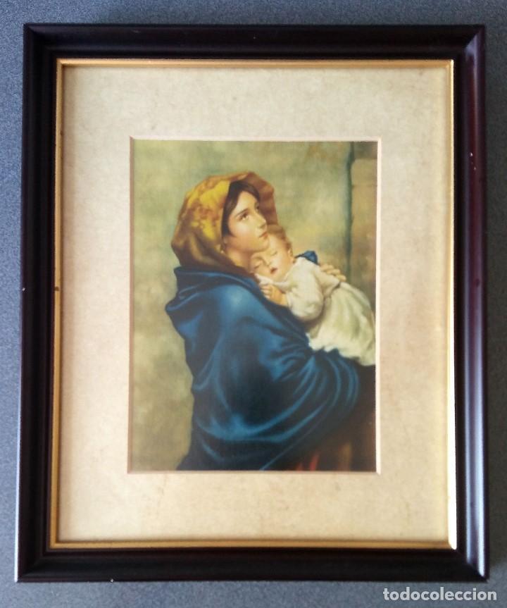LÁMINA VIRGEN MADONNINA DE ROBERTO FERRUZZI (Arte - Arte Religioso - Pintura Religiosa - Otros)