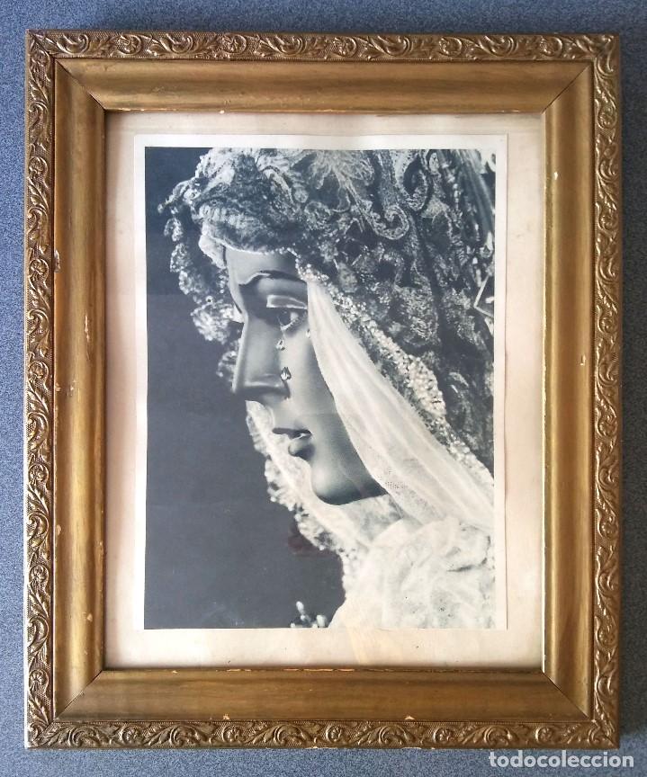 LÁMINA VIRGEN DE LA MACARENA ENMARCADA (Arte - Arte Religioso - Pintura Religiosa - Otros)