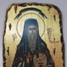 Arte: ICONO GRIEGO. TRAÍDO DE GRECIA. NUMERADO. MUY BUEN ESTADO.. Lote 158741198