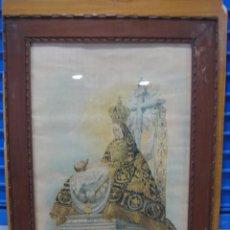 Arte: ANTIGUA LITOGRAFIA DE LA VIRGEN DE LAS ANGUSTIAS PATRONA DE GRANADA. LIT PAULINO V. TRAVESET. Lote 158970238