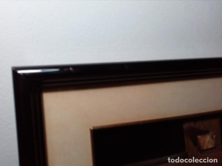 Arte: LÁMINA EN RELIEVE ENMARCADA DEL CRISTO DE VICENTE ROSO (42 CM ALTO POR 34 ANCHO) - Foto 13 - 159565254