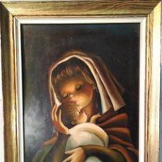 Arte: LUIS VANTOLRA - 1964 ORIGINAL ÓLEO SOBRE TABLA FIRMADO. Lote 159698338