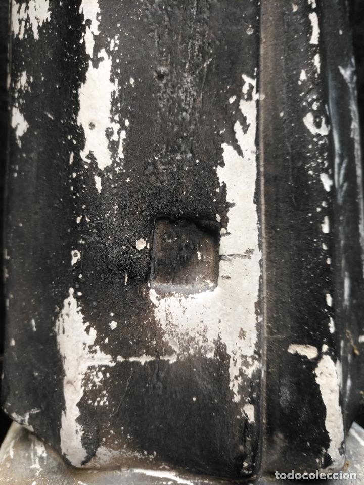 Arte: gran ESCULTURA OLOT O SIMILAR CON SELLO , SANTA RITA DE CASIA - VERTOS 42 CM - Foto 5 - 159849690