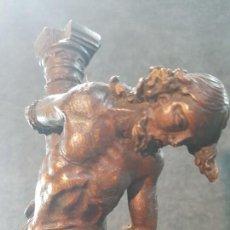 Arte: ANTIGUI CRISTO ITALIANO ATADO A LA COLUMNA. SIGLO XVIII. Lote 160059970