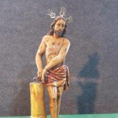 Arte: TALLA ANTIGUA DE CRISTO ATADO A LA COLUMNA. Lote 160084242