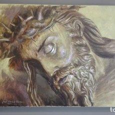 Arte: ÓLEO SOBRE TABLA DEL PINTOR MALAGUEÑO JOSÉ CARLOS CHICA, CRISTO VIGÍAS VÉLEZ-MÁLAGA, 60 X 40 CM. Lote 160095938