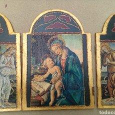 Arte: RETABLO RELIGIOSO.IMITACION.. Lote 160226658