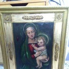Arte: SANTA VIRGEN MARÍA CON EL NIÑO JESÚS. Lote 160423660