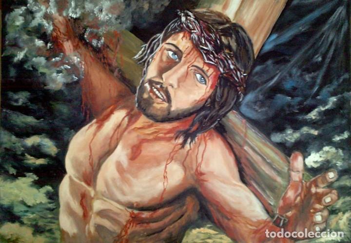 OLEO LIENZO 50*70 CM (Arte - Arte Religioso - Pintura Religiosa - Oleo)