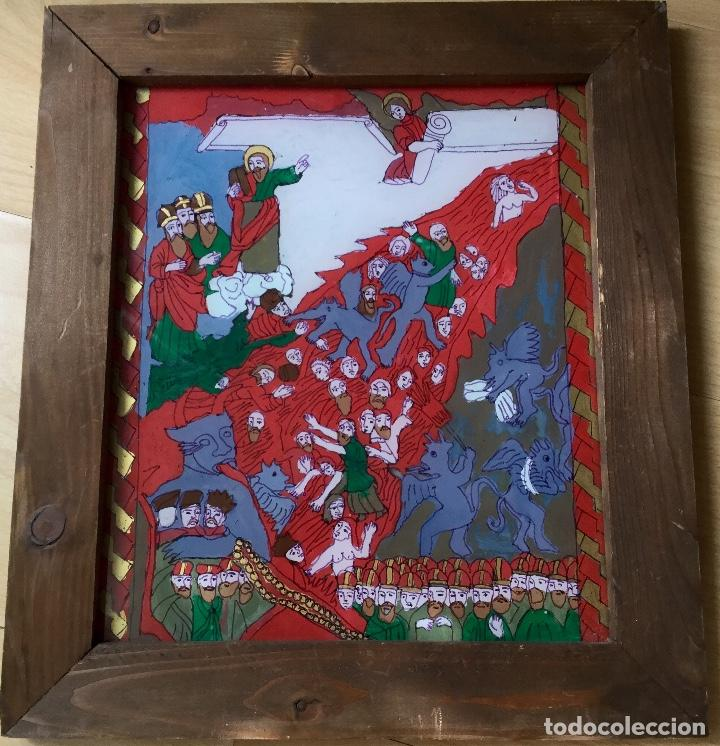 Arte: Técnica mixta con reproducción de miniatura de temática religiosa - Foto 4 - 160525966