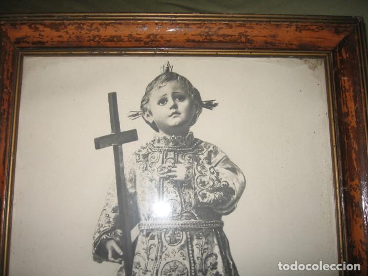 Arte: CUADRO ENMARCADO DEL SANTO NIÑO DEL REMEDIO - Foto 2 - 160561838