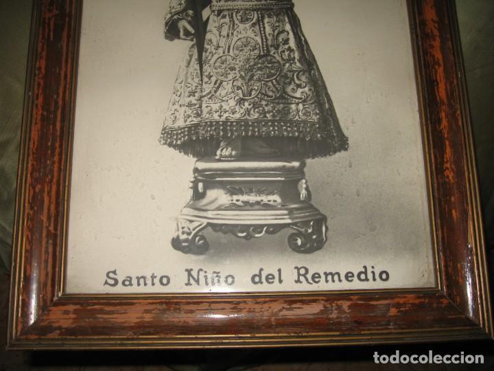 Arte: CUADRO ENMARCADO DEL SANTO NIÑO DEL REMEDIO - Foto 3 - 160561838