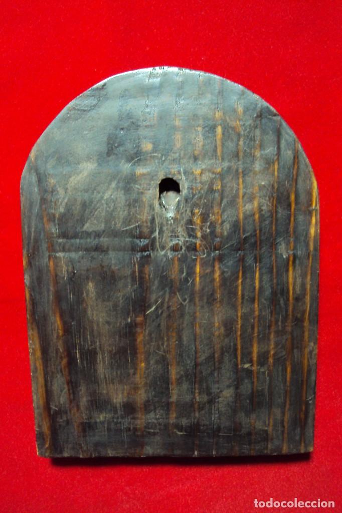 Arte: Sagrada Familia Hispano-filipina talla en hueso aderezos en plata - Foto 10 - 160598214