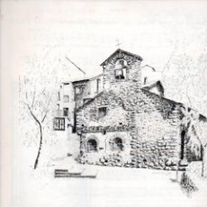 Arte: GOIGS DE SANT MIQUEL DE MOSQUERA - ENCAMP ANDORRA 1989 DÍPTIC Nº 74 DE 250 PAPER FIL. Lote 160659122