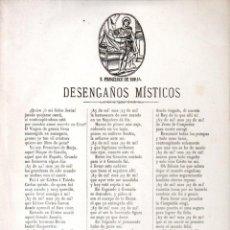 Arte: GOIGS DESENGAÑOS MÍSTICOS SAN FRANCISCO DE BORJA (IMP. ROCA, MANRESA, S.F.). Lote 160667026