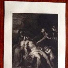 Kunst - GRABADO. - JESUS REX -. ENVIO CERTIFICADO INCLUIDO. - 160669254