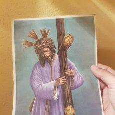 Arte: VIEJA ESTAMPA RELIGIOSA ENVIO ORDINARIO INCLUIDO A ESPAÑA. Lote 160692746