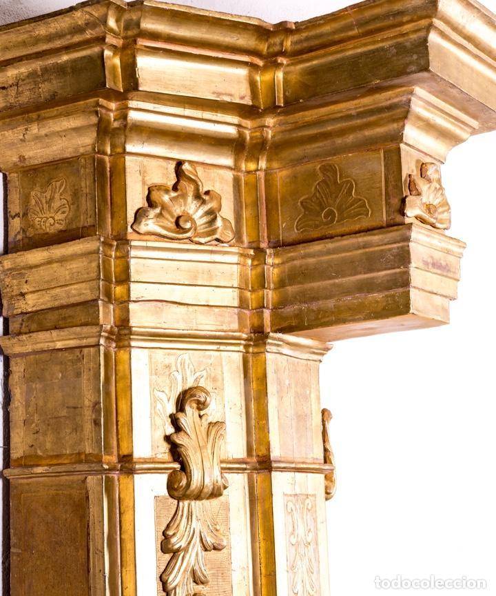Arte: Columna De Retablo S.XVIII - Foto 4 - 160800206