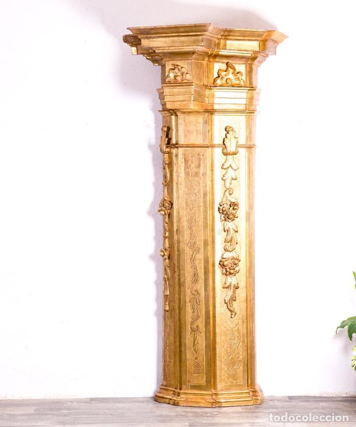 Arte: Columna De Retablo S.XVIII - Foto 7 - 160800206