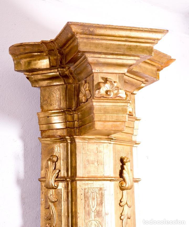 Arte: Columna De Retablo S.XVIII - Foto 8 - 160800206