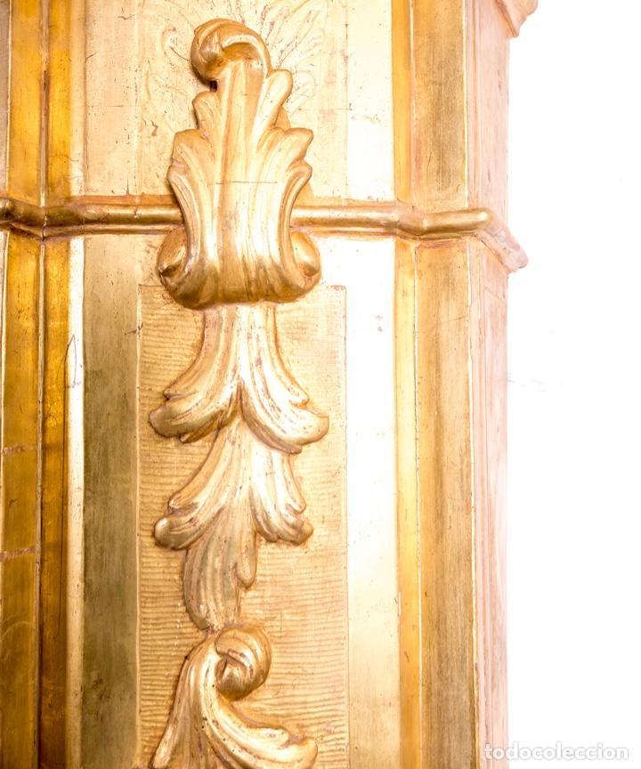 Arte: Columna De Retablo S.XVIII - Foto 10 - 160800206