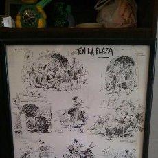 Arte: DIBUJOS ORIGINALES DEL PINTOR, ILUSTRADOR Y CARTELISTA, LUIS GARCÍA CAMPOS . Lote 160963042