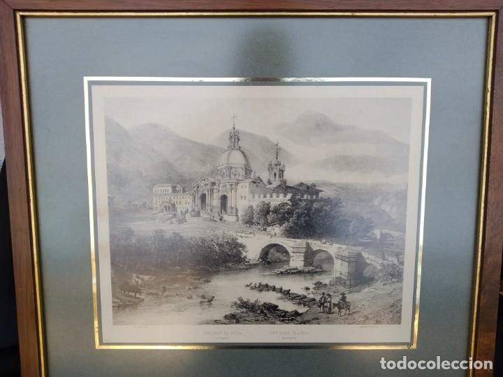 SAN IGNACIO DE LOYOLA. GUIPUZCOA. GRABADO (Arte - Arte Religioso - Grabados)