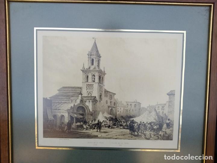 SEVILLA. GRABADO DE LA IGLESIA DE LA FERIA (Arte - Arte Religioso - Grabados)