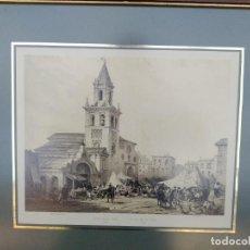 Arte: SEVILLA. GRABADO DE LA IGLESIA DE LA FERIA. Lote 160978282