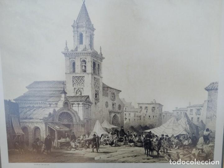 Arte: SEVILLA. GRABADO DE LA IGLESIA DE LA FERIA - Foto 3 - 160978282