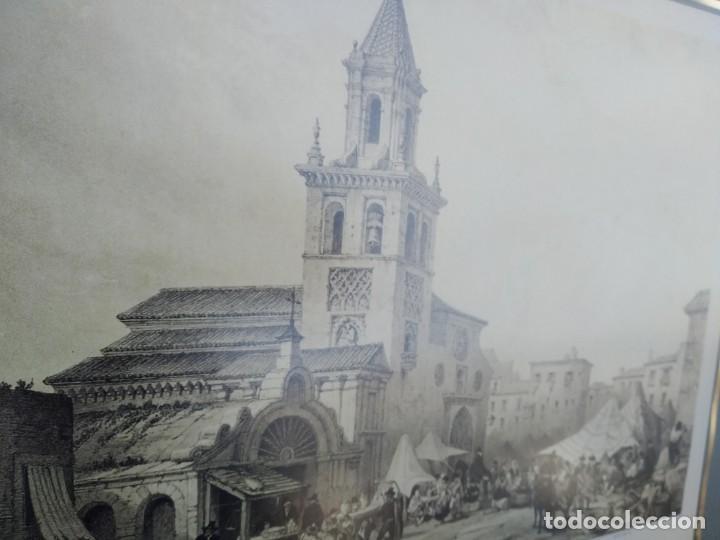 Arte: SEVILLA. GRABADO DE LA IGLESIA DE LA FERIA - Foto 7 - 160978282