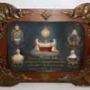Arte: PRECIOSA OBRA MODERNISTA DE TEMA RELIGIOSO. OLEO SOBRE TABLA DEL AÑO 1915. Lote 160981794