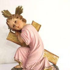 Art: ANTIGUO NIÑO JESÚS PASIONARIO - EL ARTE CRISTIANO OLOT - GRAN TAMAÑO. Lote 205084758