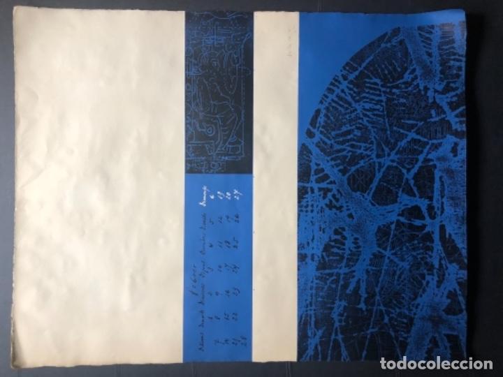 Arte: CALENDARIO 1966 LITOGRAFIAS 12 ARTISTAS CATALANES, SUBIRATS, GUINOVART, RÀFOLS CASAAMADA - Foto 7 - 161198314