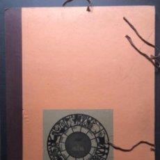Arte: CALENDARIO 1966 LITOGRAFIAS 12 ARTISTAS CATALANES, SUBIRATS, GUINOVART, RÀFOLS CASAAMADA. Lote 161198314
