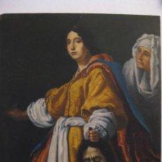 Arte: OLEO TABLA JUDITH CON LA CABEZA DE HOLOFERNES DE CRISTOFANO ALLORI MAGISTRAL RÉPLICA S.XX 45 X 38 CM. Lote 161347258