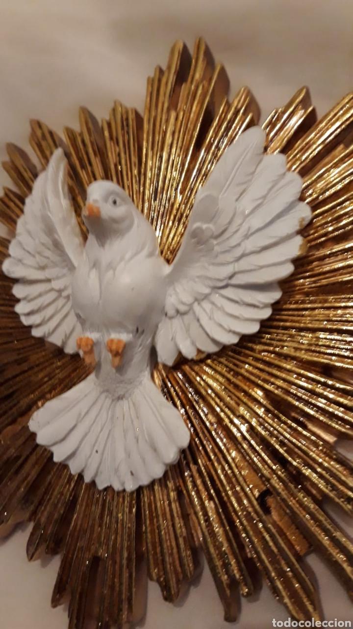 Gran Y Bella Figura Resplandor Espíritu Santo 2 Kaufen Antike