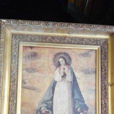 Arte - cuadro con virgen 47 cm x 37 cm - 161540922