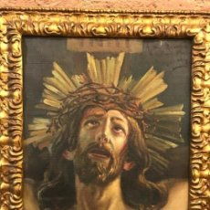 Arte: SANTISIMO CRISTO, OBRA DISCIPULO FERNANDEZ ALVARADO. Lote 161622238