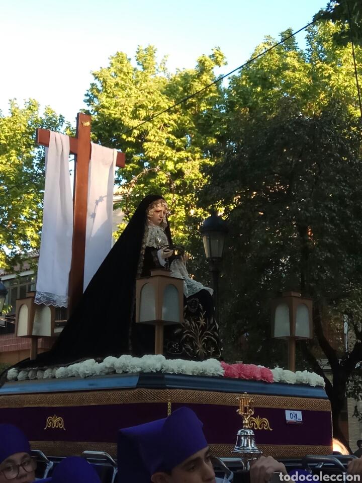 a257acd9e30 Virgen dolorosa cap i pota antigua para procedionar - España - Dolorosa  sedente