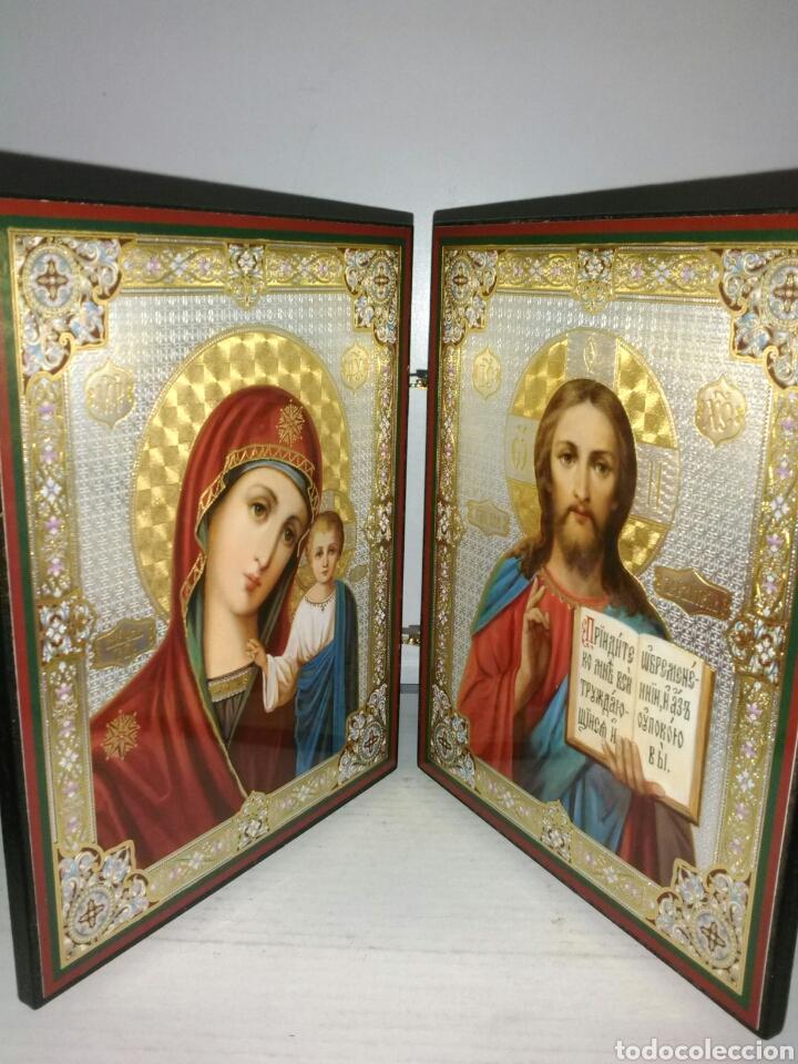 PRECIOSO ICONO RUSO. (Arte - Arte Religioso - Iconos)
