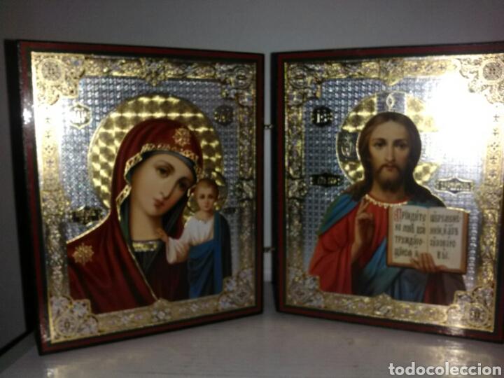 Arte: PRECIOSO ICONO RUSO. - Foto 2 - 161688901