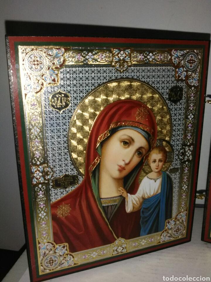 Arte: PRECIOSO ICONO RUSO. - Foto 3 - 161688901